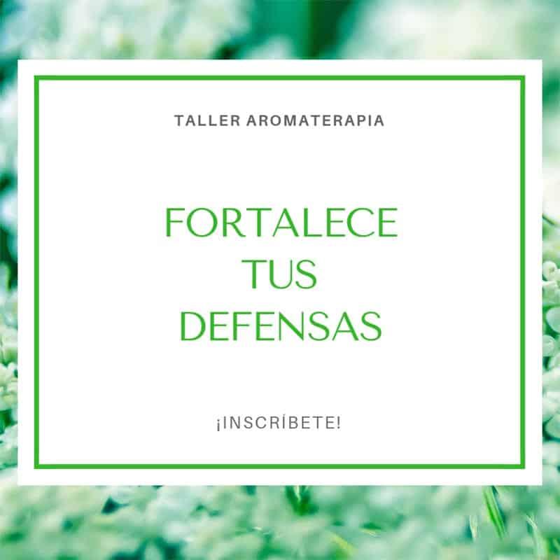 Vive mejor con aromaterapia Fortalece tus defensas